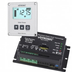 Solar regulators & Monitors