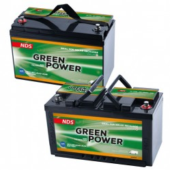 12V lead-acid batteries