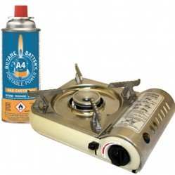 Various gas appliances gas canisters & accessories