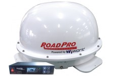 RoadPro 30cm Sat-Dome: In Motion
