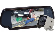 "Camos Jewel V1 Camera With 7"" Mirror Monitor - No Cable"