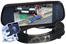 Camos CM-200 Camera With Mirror Monitor & Cable