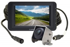 "Camos Jewel PLUS V1 Camera with cable & 5"" Dash Monitor"