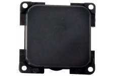 Single Plate Switch: Black