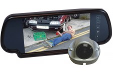 "Camos Jewel V2 Camera with 7"" Mirror Monitor No Cable"