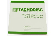 Tachodisc HGV Vehicle Defect Book