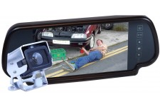 Camos CM-200 Camera Kit With Mirror Monitor - No Cable