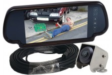 "Camos Jewel Plus V1 Camera with Cable & 7"" Mirror Monitor"