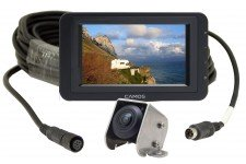 "Camos Jewel PLUS V1 Camera with cable & 7"" Dash Monitor"