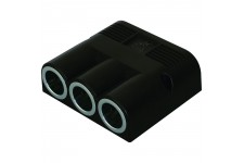 Pro Car Triple Surface Mounted Power Socket