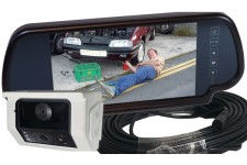 "Camos CM-49 twin lens camera + 7"" mirror monitor + 18M cable"
