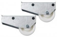 Skid Wheels: Set Of Two