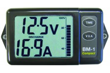 Nasa Marine Battery Monitor Compact (Black)