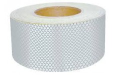 12.5m Roll Of White Conspicuity Tape