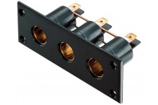 Pro Car DIN Sockets - Panel Of 3
