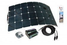 NDS 50W Solarflex Solar Panel Kit: Dual Output