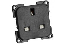 13amp Socket Black