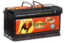 Banner Running Bull 58001 AGM Battery: 80/90Ah