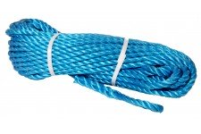 Rope: 90' Blue Polypropolene