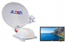 "Alden 60cm AS2 (Twin LNB) with AIO 18.5"" TV"