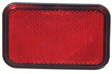 Self-Adhesive Reflector: 4  X 2 - Red