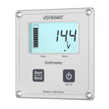 Image for Votronic 1256 LCD-Voltmeter S