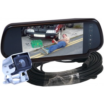 Image for Camos CM-200 Camera With Mirror Monitor & Cable