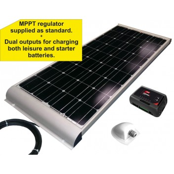NDS 100W Aero Solar Panel Kit: Dual Output MPPT