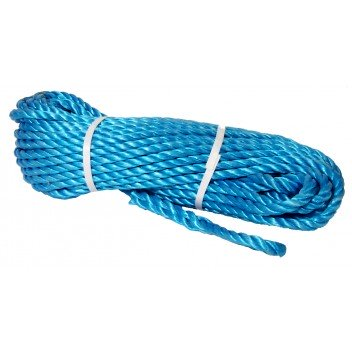 Image for Rope: 90' Blue Polypropolene
