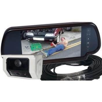"Image for Camos CM-49 twin view camera + 7"" mirror monitor + 18M cable"